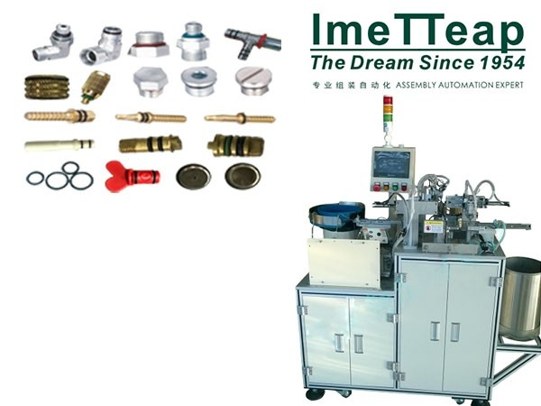 Automated Inline O-Ring Assembly Machine