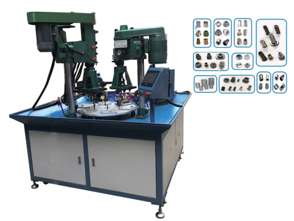 Rotary Table Type Drilling & Tapping Machine